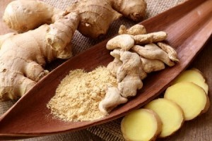 ginger root helps treat the flu and colds